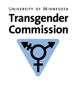 Logo and link for the Transgender Commission