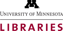 logo and link for the University of Minnesota libraries